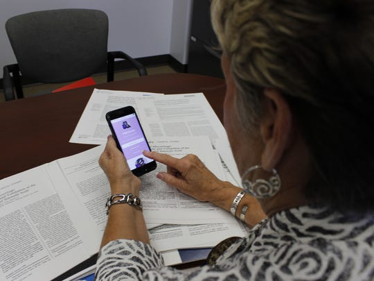 Dr. Marianne Hutti, a professor at U of L, explains a new app that helps health care providers help grieving women after suffering from a perinatal loss.