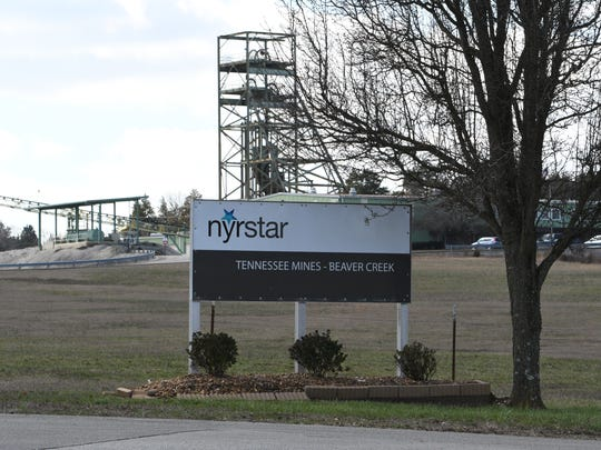 Nyrstar Tennessee Mines, shown here on Monday, Jan. 30, 2017, is having issues with residents over the legality of underground mining rights.