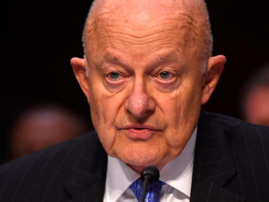 Former National Intelligence Director James Clapper