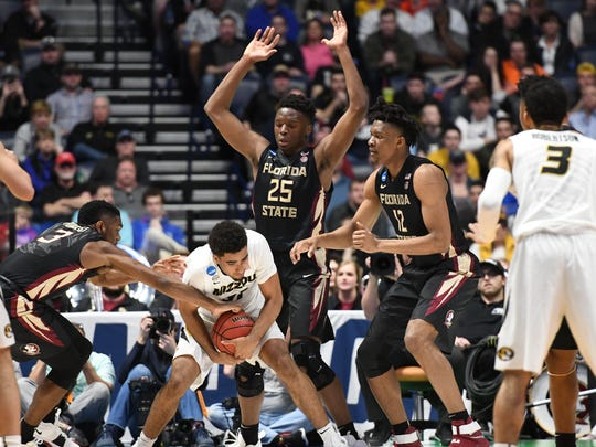 Florida State locks down Missouri on defense en route to a 67-54 victory in the first round of the NCAA Tournament.