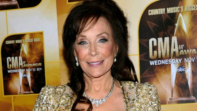 Loretta Lynn at the 2010 Country Music Awards in Nashville.