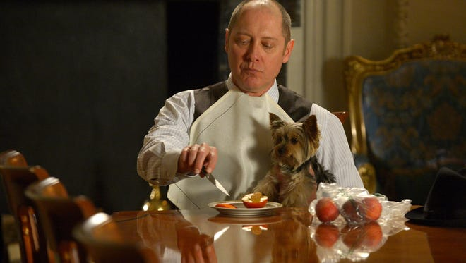 """James Spader as Raymond Reddington in """"The Blacklist,"""" one of 10 television series produced in New York."""