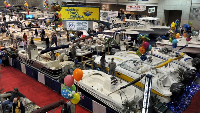 FILE IMAGE: OC Seaside Boat Show. The event will be Feb. 12-14, 2016 at the Roland E. Powell Convention Center in Ocean City.