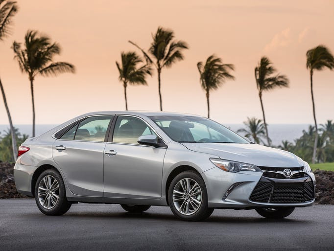 2015 Toyota Camry is available with the choice of a