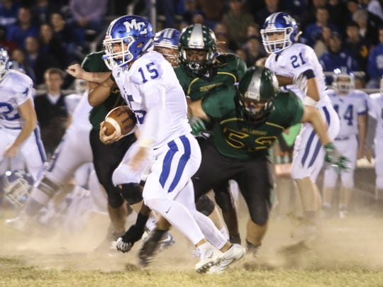 Northwest faced Macon County during their playoff game