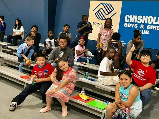 The Montgomery Area Musicians Association recently held a music education workshop at the Chisholm Boys & Girls Club.