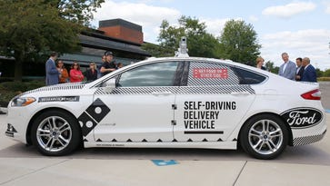 Domino's, Ford to test driverless pizza delivery in Ann Arbor