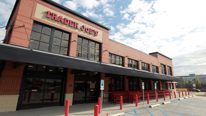 Trader Joe's in Coralville, Iowa. The grocery chain opened a new location there in late 2017, one of its nearly 500 stores.