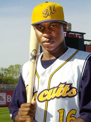 Detroit Tigers player Delmon Young was an outfielder