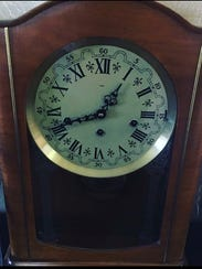 This special clock chimed the quarter-hour in Janna Anderson's grandparents' home for nearly 60 years, and now she treasures this family heirloom in her own home.