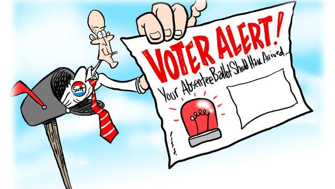 Voeter Alert cartoon by Andy Marlette.