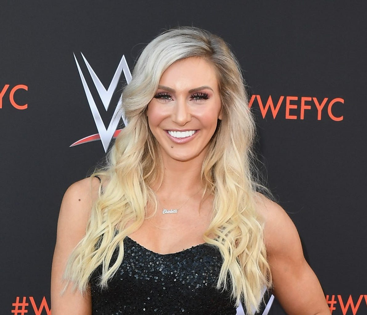 NORTH HOLLYWOOD, CA - JUNE 06:  Charlotte Flair attends WWE's First-Ever Emmy