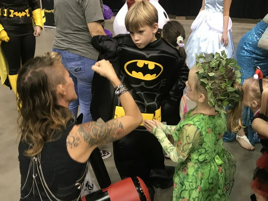 San Angelo Comic Con drew a strong crowd to the Foster Communications Coliseum on Saturday, Oct. 14, 2017.