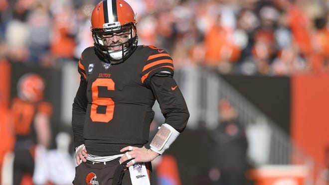 Former Lake Travis and current Cleveland Browns quarterback Baker Mayfield said he will kneel during the national anthem this upcoming season in support of civil rights.