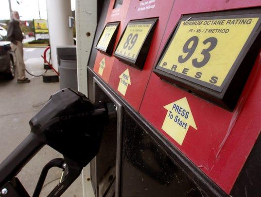 AP GASOLINE PRICES A USA VT