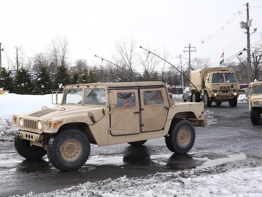 National Guard in Clarkstown