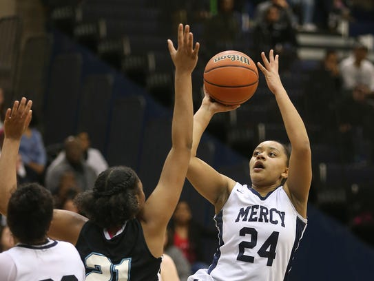 Traiva Breedlove has helped Mercy win two Section V
