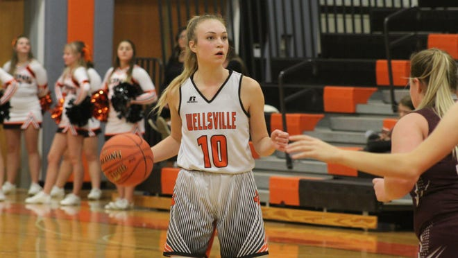 Marley Adams led youthful Wellsville to another great regular season, leading the Lady Lions with 13.5 points per game.