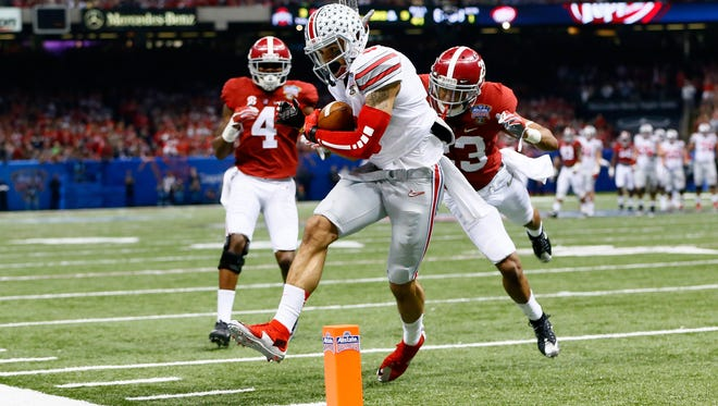 Ohio State receiver Devin Smith could prove to be a good fit for the Lions.