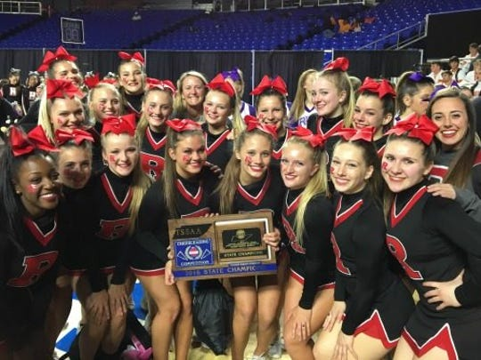 Ravenwood High School's cheer team won its fourth state championship in a row.