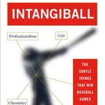 """""""Intangiball: The Subtle Things That Win Baseball Games,"""" is the new book from author Lonnie Wheeler."""