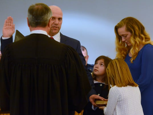 Chief Snyder sworn in at West Manchester Township
