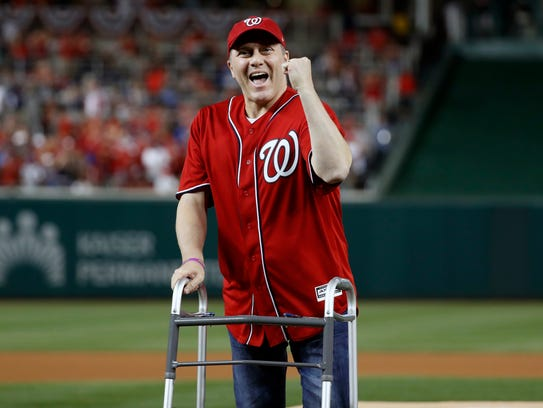 NLDS Game 1: Cubs at Nationals - Rep. Steve Scalise,