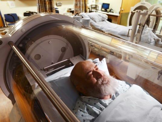 Wound Center Offers Hyperbaric Oxygen Chamber