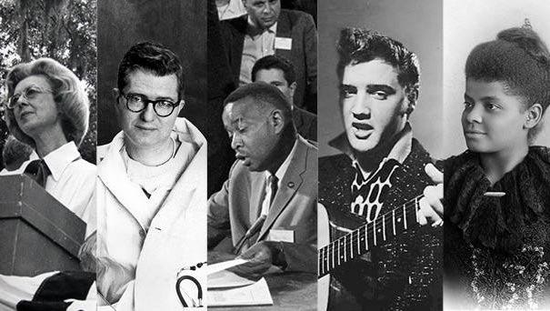 Evelyn Gandy, James Hardy, Aaron Henry, Elvis Presley and Ida B. Wells have been elected to the Mississippi Hall of Fame.