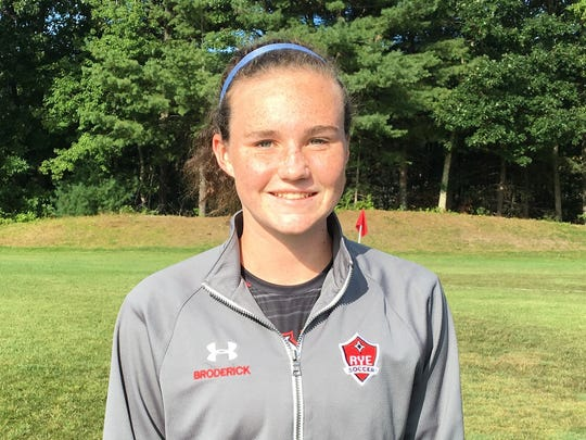 Molly Broderick is a standout on defense for Rye.
