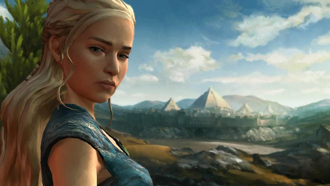 Daenerys Targaryen makes an appearance in Game of Thrones Episode 4: Sons of Winter.