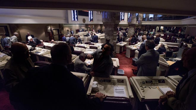 The legislature begins the special session at the Alabama Statehouse in Montgomery, Ala. on Tuesday September 8, 2015. The House of Representatives Friday approved a $1.7 billion General Fund budget.