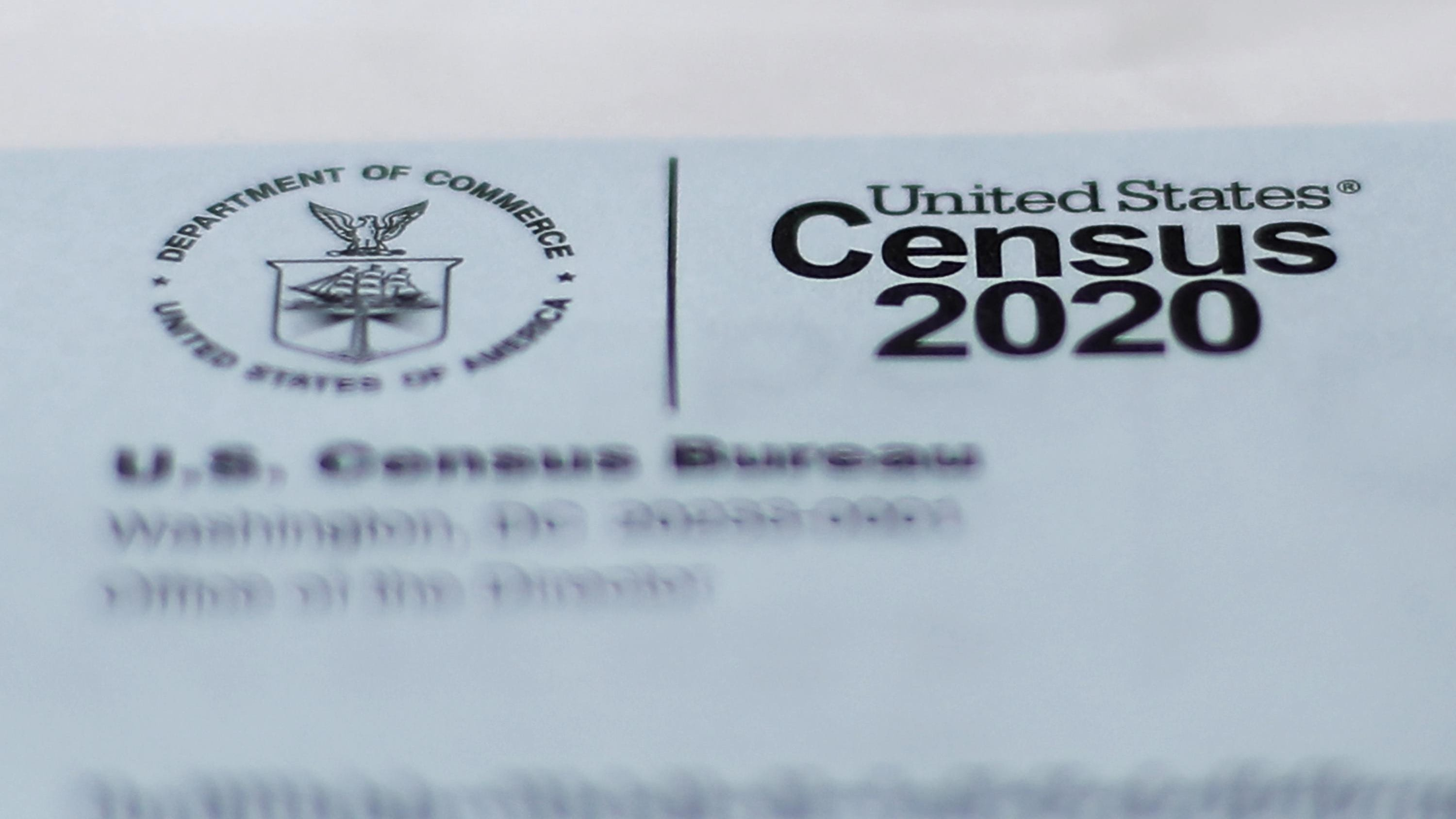 A 2020 census letter mailed to a U.S. resident.