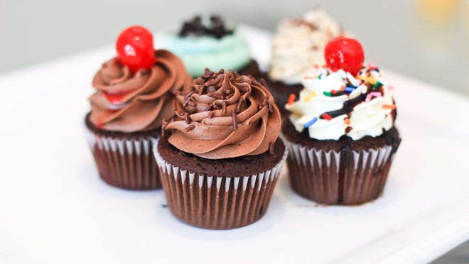 Alcohol-infused desserts, like these cupcakes in New Jersey, will now be allowed in New York.