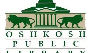 Oshkosh Public Library logo.