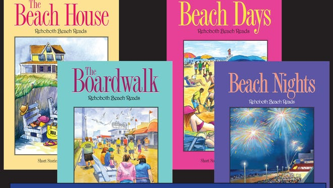 The four books in the Beach Reads series.