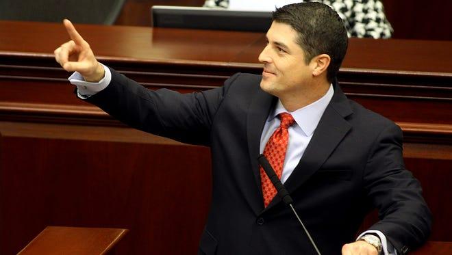 Incoming House Speaker Steve Crisafulli R- Merritt Island