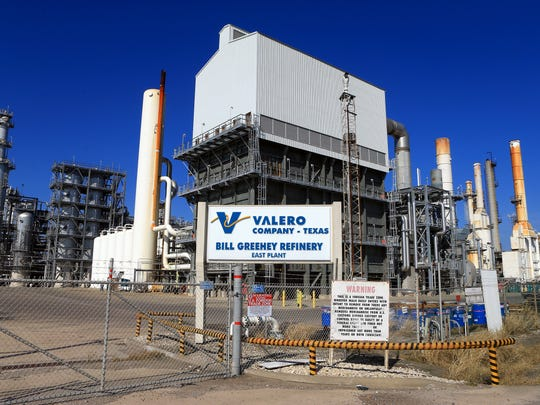 The Valero Company-East Plant is located on Cantwell Ln. Saturday, Dec. 17, 2016, in Corpus Christi.