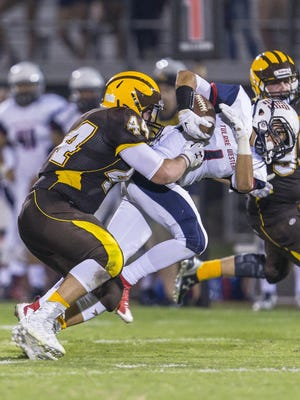 Golden West's David Flores, 44, will represent the East team in the 49th annual Tulare-Kings County All-Star Football game.