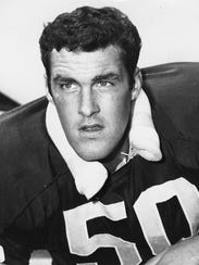 Bob Hyland was the Packers' first-round pick in the