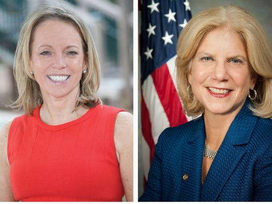 Candidates for state Senate District 37: Julie Killian, Republican; Shelley Mayer, Democrat.