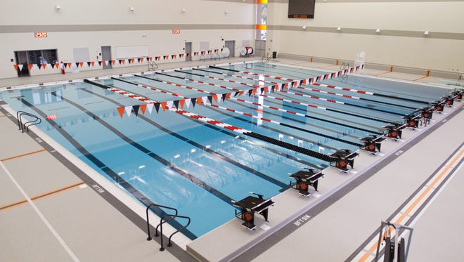 Those deciding who will use Brighton High School's pool and when, may be in hot water.