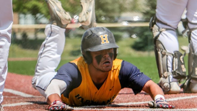 Jack Slavin and the Hartland baseball team's season came to an end Saturday afternoon in the regional finals against Northville.