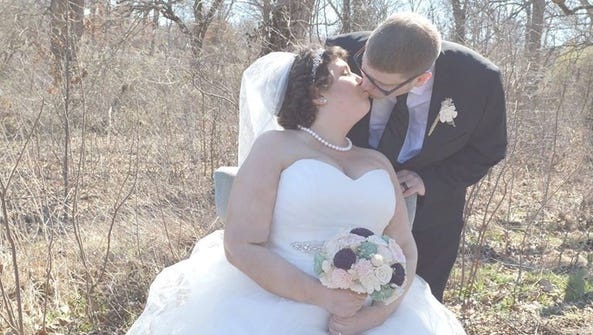 Melanie and Paul were married on Feb. 26.