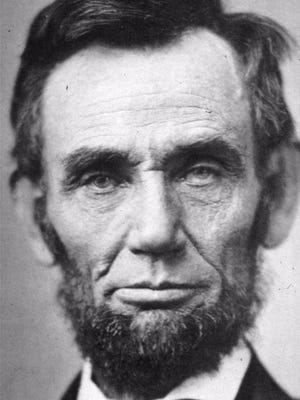 This is a studio portrait of Abraham Lincoln, dated November 8, 1863, made by photographer Alexander Gardner.