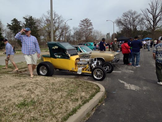 Easter Sunday Car Show Forest Park