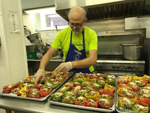 Toni S Kitchen Volunteer