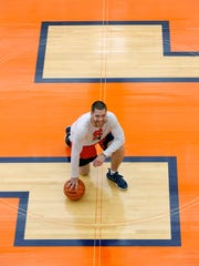 Eric Devendorf's 1,680 points rank 14th on SU's all-time scoring list.