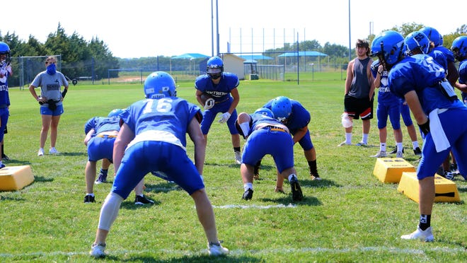 The Nickerson High football team went 4-5 last season and are expected to be improved on offense.