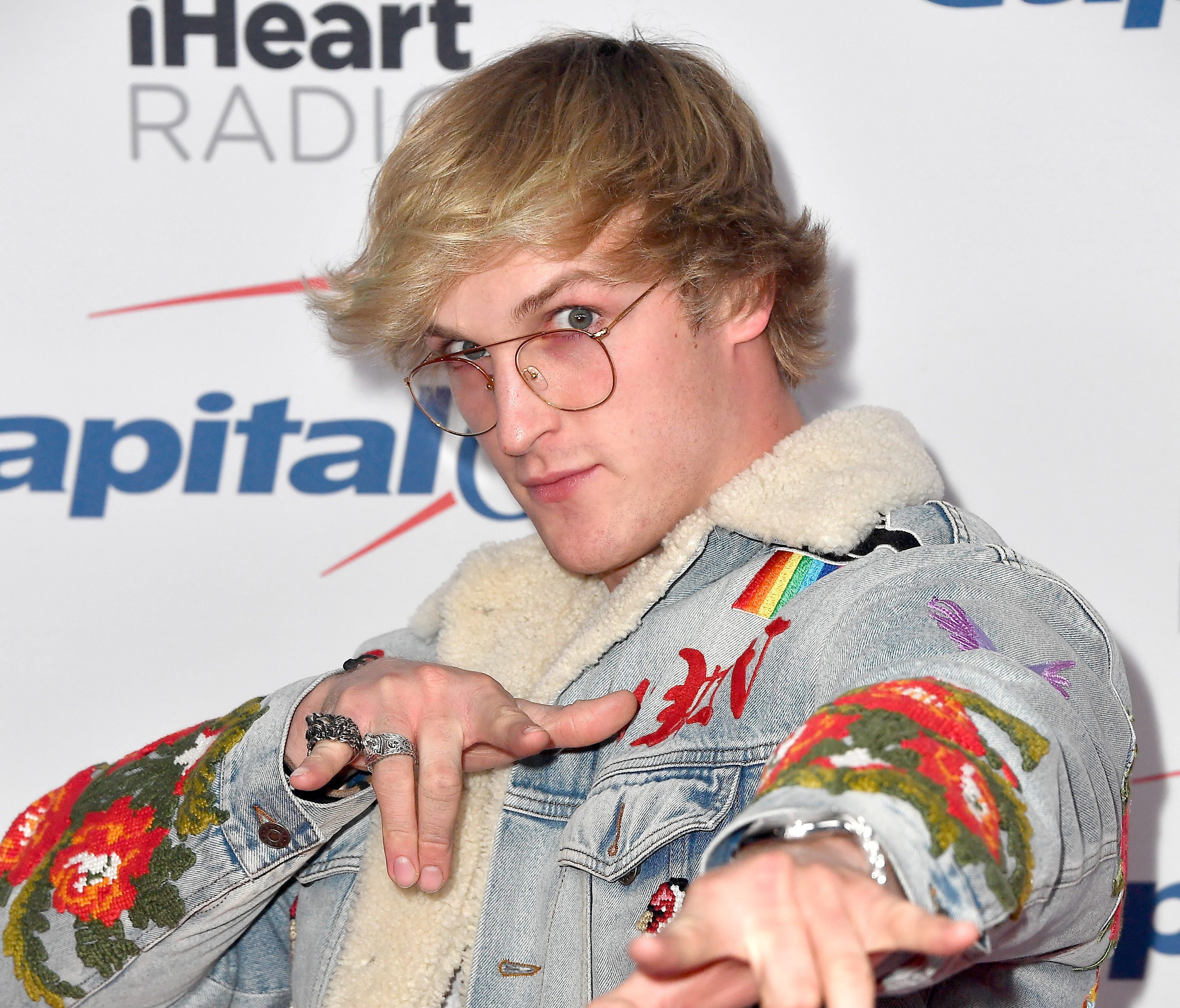 Logan Paul attends 102.7 KIIS FM's Jingle Ball 2017 presented by Capital One at The Forum on December 1, 2017 in Inglewood, California.